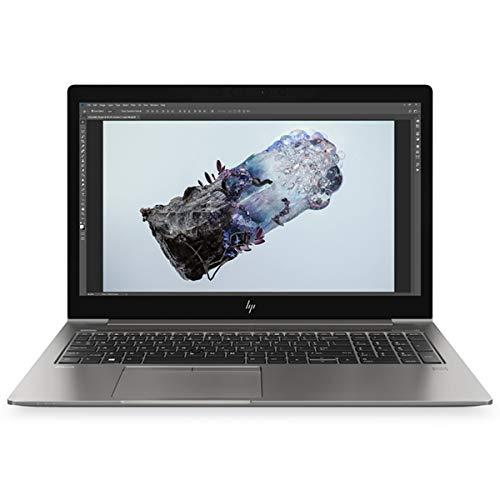 HP ZBook 15u G6 Mobile Workstation, Silver, Intel Core i7-8565U, 16GB RAM, 512GB SSD, 15.6' 1920x1080 FHD, 4GB AMD Radeon Pro WX 3200, HP 1 YR WTY + EuroPC Warranty Assist, (Renewed)