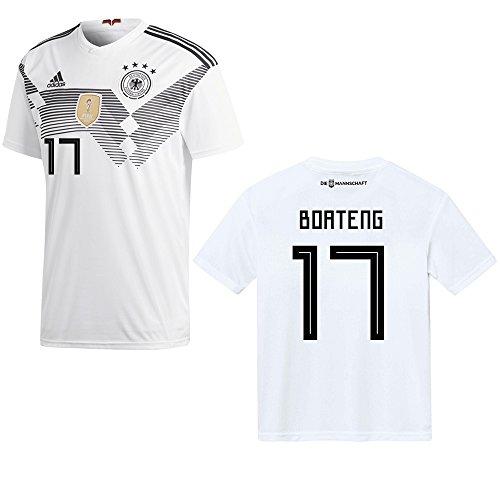adidas DFB Deutschland Trikot Home Herren 2018/2019 - Boateng 17, Größe:S