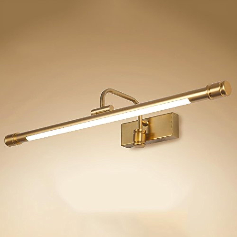 LJHA jingqiandeng Spiegel-Scheinwerfer-amerikanische Spiegel-Scheinwerfer-Badezimmer-LED Spiegel-Licht-ankleidende Lampe Badezimmer-Spiegel-Kabinett-Licht-einfache nordische Verfassungs-Lampe Bad Wand