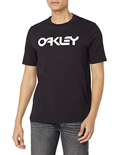Oakley Herren Mark Ii Tee T-Shirt, schwarz/weiß, XX-Large