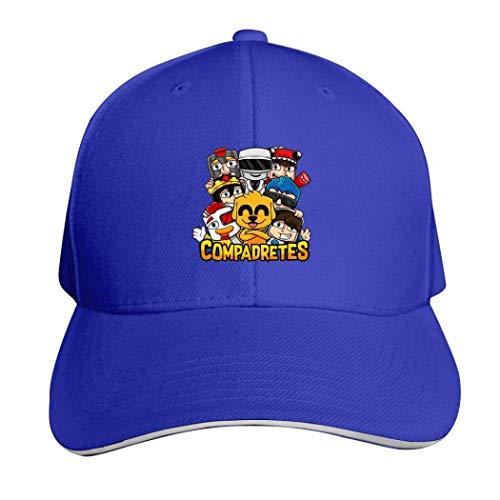 Gorra de béisbol Unisex Mi-kec-Rack, Unisex, Estilo clásico, para Mujer, Deportiva, Ajustable, sólida, para jóvenes y Padres.