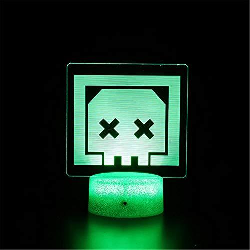 Regalos de niña de 8 años Apex Legends 11 años de edad regalos de niño Touch LED lámpara de escritorio de mesa 16 colores cambiante interruptor táctil luz nocturna para niños amigos regalo