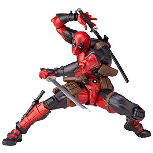 ZQBY7AA Miracle Avengers Deadpool Poco cursi Manos en Modelo de Juguete, 16cm
