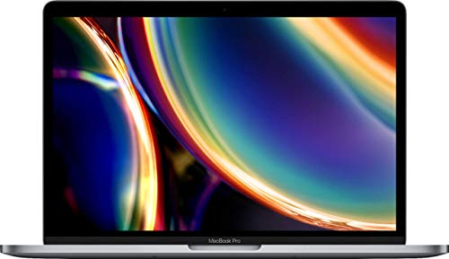 Apple MacBook Pro 13.3' with Touch Bar (i5-8257u, 8 GB, 256 GB SSD) QWERTY US Keyboard MXK62LL/A, Mid-2020 Space Gray (Renewed)