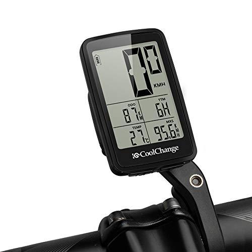 Base inalámbricas de bicicletas ordenador cuentakilómetros velocímetro deportes al aire libre a...