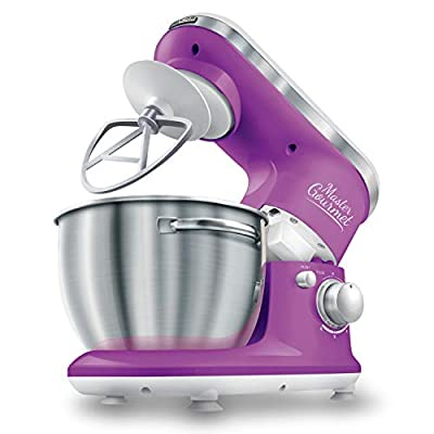 Sencor Stand Mixer 300W with Pouring Shield, Violet