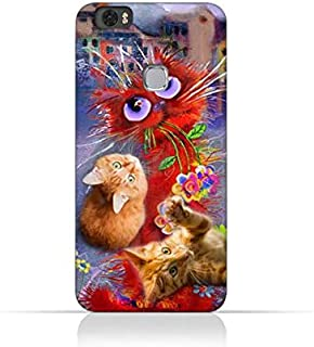 Huawei Honor Note 8 TPU Silicone Protective Case with Adorable Cute Cats Design