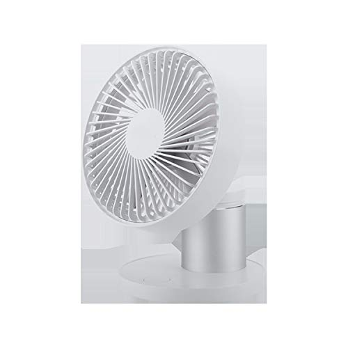 Langlebig Desktop Large Wind Shaking Head Fan 3 Gang einstellbare USB-Lade 4 Blade Mini Tischventilator Praktisch