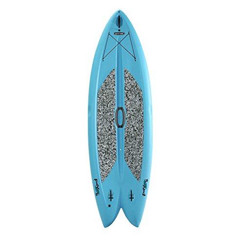 "Lifetime Freestyle Hard Shell Paddleboard with Paddle, 9'8""/X-Large, Glacier Blue"
