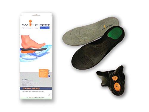 iMustBuy smile-feet Orthopädische Einlegesohlen mit Gel Pad, entworfen von DR Joe, orthopädische Specialist-Top Pro # L