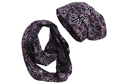 shenky Packs bonnet, écharpe et gants femme