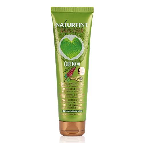 Naturtint Hair Food Quinoa Mask | Mascarilla Capilar Superalimento Quinoa | Color y Brillo | Más Intensidad y Duración del Color | Especial Cabellos Teñidos | 99% de Ingredientes Naturales. 150ml