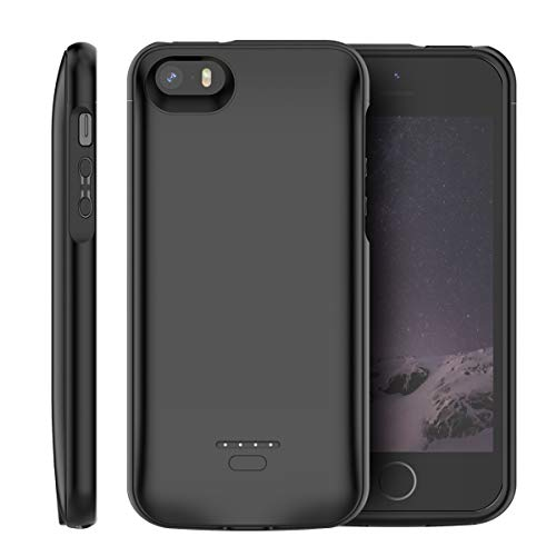 Fraternize i5 4000mAh Slim Power Bank Case Para iPhone 5 5S SE Cargador de Batería Caso a prueba de golpes Power Pack de Carga Tapa Trasera Para Iphone 5