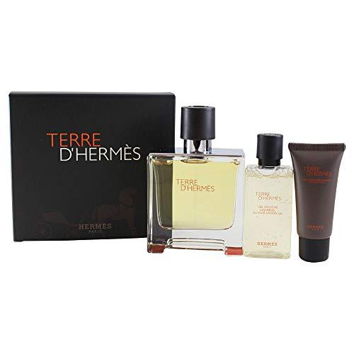 HERMES TERRE D'HERMES EDP 75 ML + EDP 12.5 ML SET REGALO