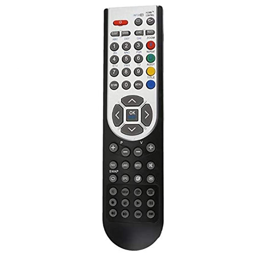 Calvas RC1900 Remote Control for OKI 32 TV HITACHI TV ALBA LUXOR BASIC VESTEL TV E5M1 tsc45152416