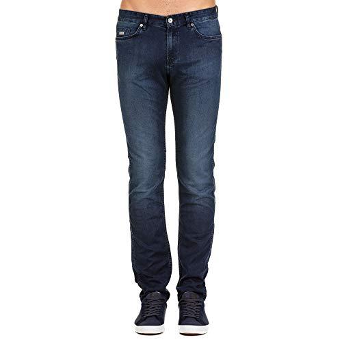 Hugo Boss Luxury Fashion Herren 50302745420 Blau Baumwolle Jeans | Frühling Sommer 20
