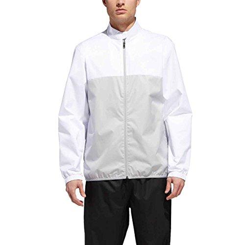 adidas Golf Herren Climatstorm Provisional Regenjacke, Weiß, Größe XL