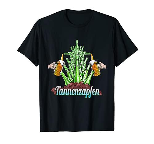 Divertida camiseta navideña con diseño de árbol de Navidad Camiseta