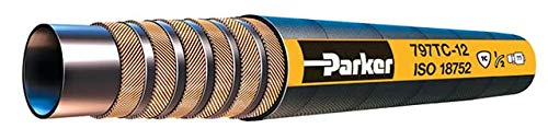 Parker 797TC-20 Four Wire Spiral Compact Hose 1-1/4 ID Tough Cover