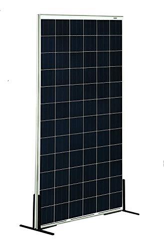 SunneSolar - Panel Solar de Policristalino con 144 células 410W 24V ideal para vivienda habitual chalets e instalaciones en casas de campo. Fabricado en Europa