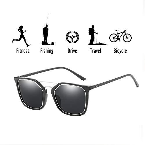 SCOBUTY Sonnenbrillen,Polarisierte Sonnenbrille,Unisex Sonnenbrille,UV 400 Schutz,Sport im Freien Golf Radfahren Angeln Wandern Eyewear Sonnenbrille