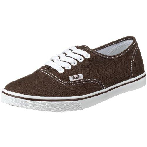 Vans U AUTHENTIC LO PRO Vgyqetr Unisex-Erwachsene Sneakers, Braun (Espresso/True W), EU 36 (US 4.5)