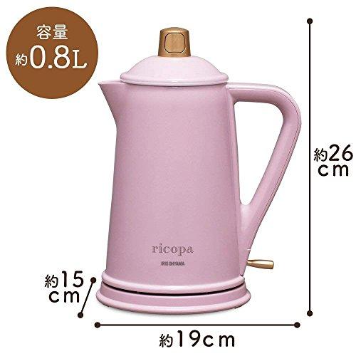 アイリスオーヤマ『ricopa(リコパ)電気ケトル(IKE-R800)』