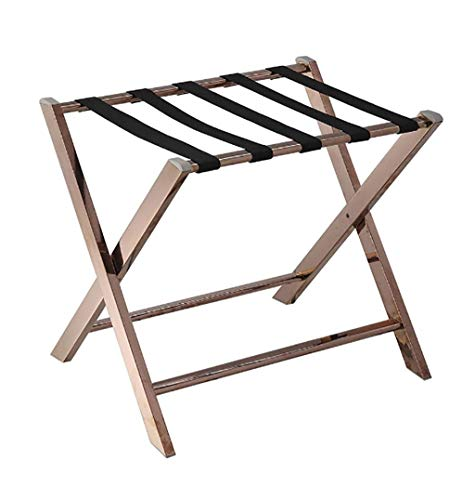 Review Of XLJ-YJ Folding Luggage Rack Suitcase Bracket, Metal Luggage Storage Shelf - Suitable for H...