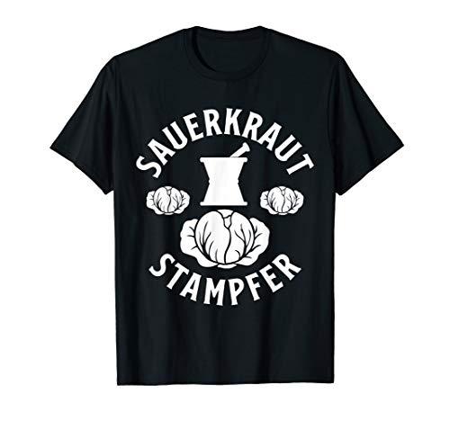 Sauerkraut Stampfer - Kraut Sauerkraut Weißkraut Weißkohl T-Shirt