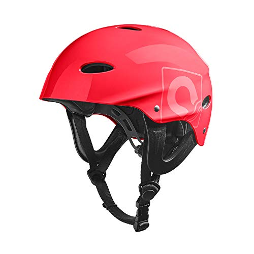 Crewsaver Boating and Sailing Kortex Watersports Helmet Red Unisex Lightweight