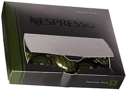 Nespresso - Cápsulas de café Espresso forte, 50unidades