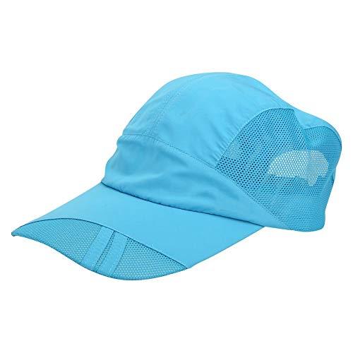 AMONIDA Sombrero para el Sol Transpirable de 62 g, Sombrero de Malla para Peces, para Ciclismo al Aire Libre, Escalada, Correr, Senderismo, Pesca(Outdoor Fishing Cap)
