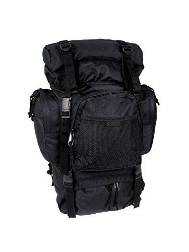 Sac à dos utilisation Trekking Tactical Noir 55 L