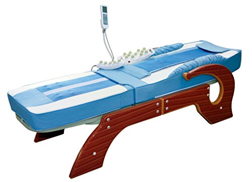 Check Out This FIR FAR Infrared Jade Roller Therapy Massage Table Bed (Blue)