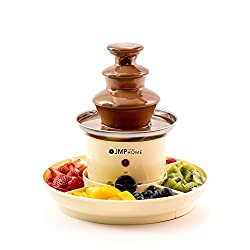 A Fantastic Chocolate Fountain that is perfect for Home use and for sharing with friends and family This Chocolate Fountain require only 450g of Chocolate to get the party started! It gets better - the Home Chocolate Fountain and Chocolate Fondue als...
