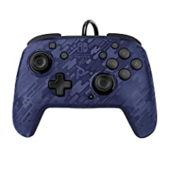 3.5 millimeter audio jack supports in game audio and USB chat, adjust volume on the fly using the D pad on the controller Customize your gameplay with dual programmable paddle style back buttons Swap out and snap in different Faceoff faceplates with ...