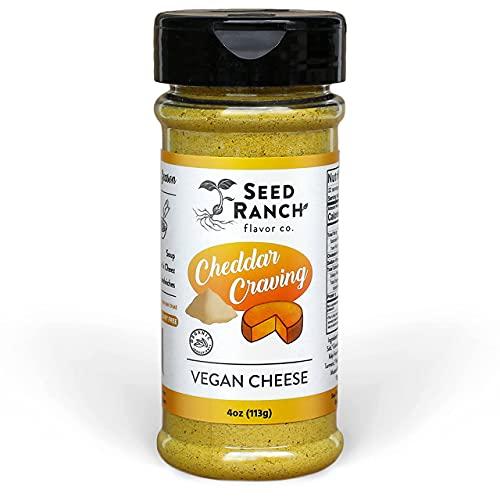 Seed Ranch - Cheddar Craving - Cheddar Cheese Powder Seasoning with Nutritional Yeast - Organic,...