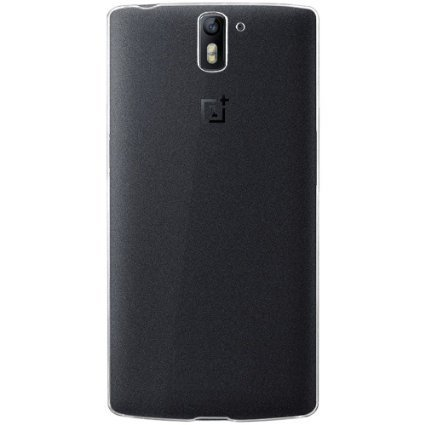 Plus Exclusive Soft Silicone TPU 0.3mm Transparent Clear Case Soft Back Case Cover for OnePlus One