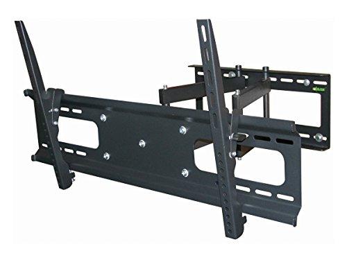 """Black Full-Motion Tilt/Swivel Wall Mount Bracket for Sharp PN-Y555 55"""" inch LED Digital Signage - Articulating/Tilting/Swiveling"""