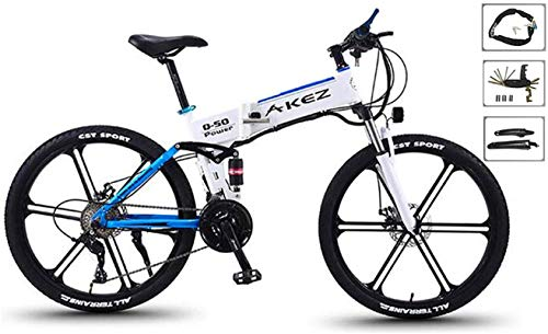 RDJM Bici electrica Eléctrica de Bicicletas de montaña, 26