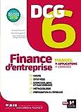 DCG 6 - Finance d'entreprise - Manuel et applications