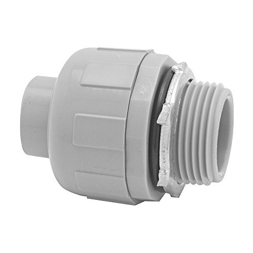 Madison Electric Products NMLQ-1050 1/2 STR NM LT Connector (25 Pack)