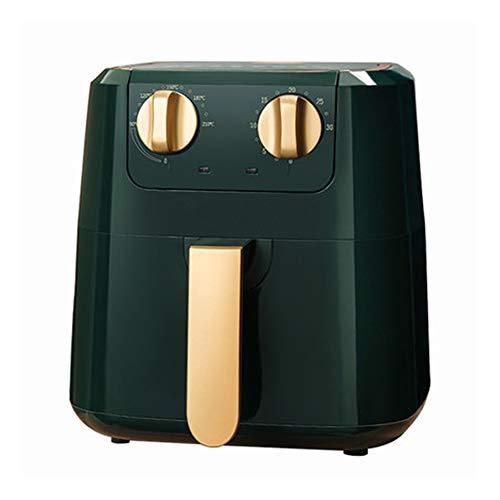 Freidora de aire,Sin Aceite,Air Fryer,Freidora eléctrica nueva automática de 5L para el hogar, máquina de papas fritas sin humo (110-220V)
