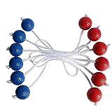 Golfbälle, Leiter-Golfball für Wurfspiele,Leiter Golf Ball Für Toss Spiel 6 Satz Harte Golf Trainingsbälle Outdoor Game gemischte Farben Ball Sets