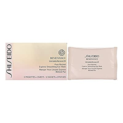 Shiseido Benefiance Wrinkle Resist 24 Pure Retinol Express Smoothing Eye Mask from Shiseido