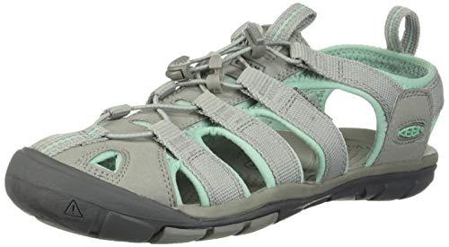 Keen Womens 1022964_39 Outdoor Sandals, Hellgrau Mintgrün, EU