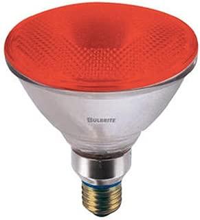 Bulbrite H90PAR38R 120V 90W PAR38 Halogen Light, Red