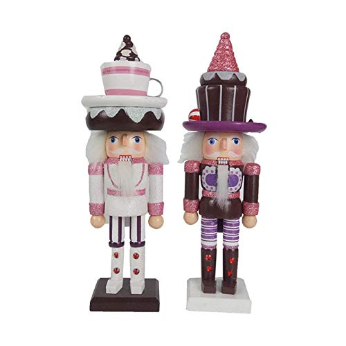 2 stuks houten cakevorm notenkraker pop soldaat beeldjes vintage handwerk marionet Kid vriendin cadeau