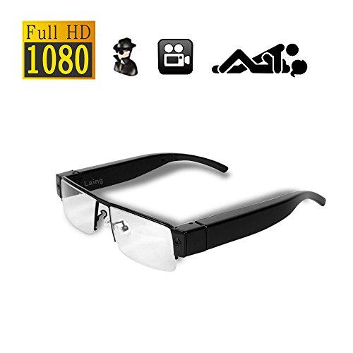 Cámara espía HD Gafas 1080P - Mini DV CAM Videos Ocultos Grabadora de Audio DVR Cámara de Deportes al Aire Libre Gafas de Sol portátiles de Moda