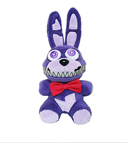 FNAF Plushies - Full Characters(7') - (Nightmare Bonnie) - Five Nights Freddy's Plush: Chica, Springtrap, Bonnie, RABIT, Marionette, Foxy Plush - Freddy Plush - FNAF Plush -Kid's Toy- Stuffed Animal